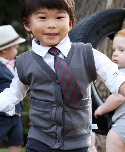 RuggedButts Mini-Man Red Stripe Tie