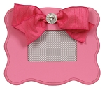 Candy Pink Scalloped Frame