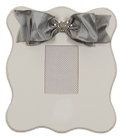 Gray Scalloped Wall Frame