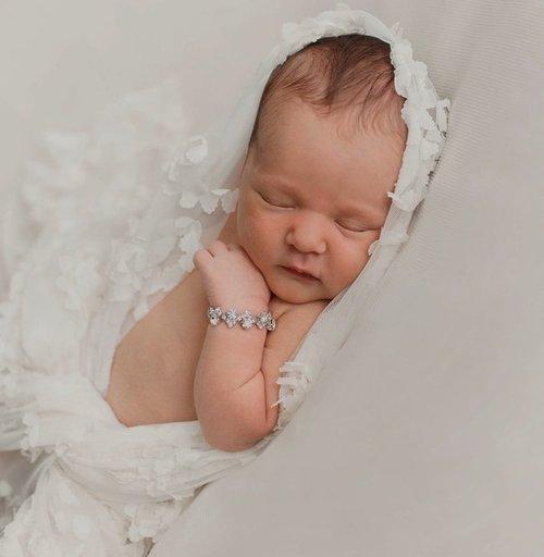 Enchanted Shimmer Dainty Baby Bracelet