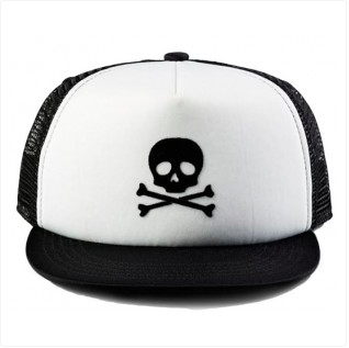 Born to Love Skull Trucker Hat