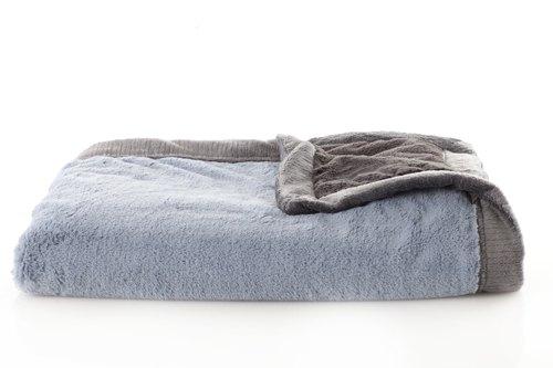 Saranoni Lush Blanket - Slate & Charcoal