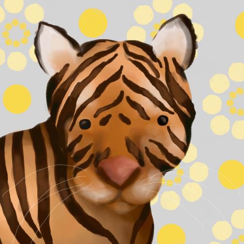 Tiger Wall Canvas