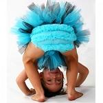 Huggalugs Chiffon Bloomer - Turquoise