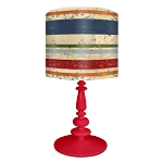Vintage Stripes Lamp