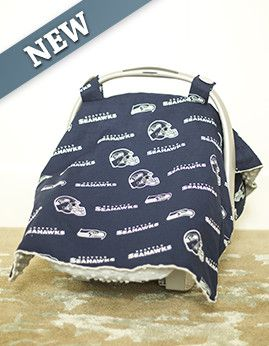 Carseat Canopy - Seahawks