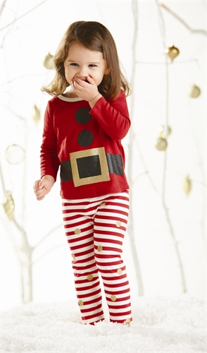 Mud Pie Glitter Pajamas