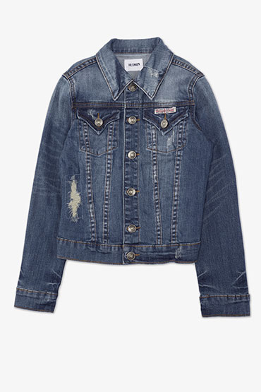 Hudson Jean Jacket - Blue Stone