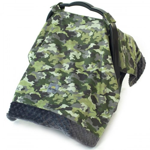 Car Seat Canopy & Tummy Time Mat - Camo