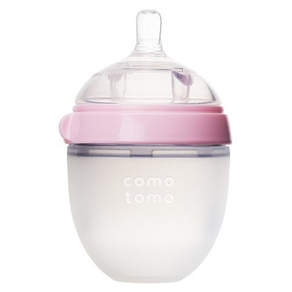 Comotomo 5oz Baby Bottle - Pink