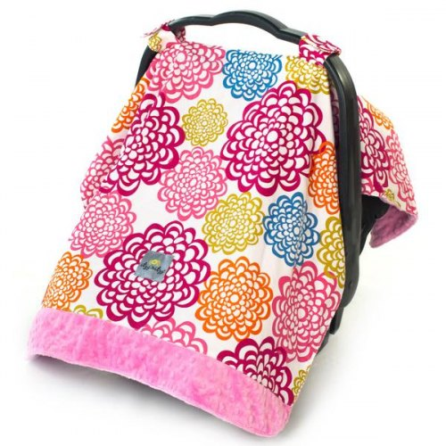Car Seat Canopy & Tummy Time Mat - Fresh Bloom