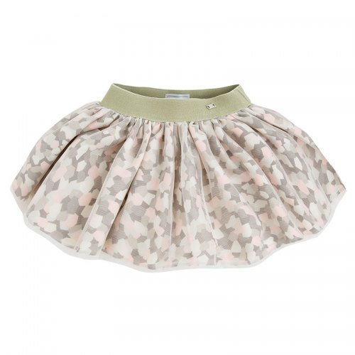 Mayoral Pattern Tulle Skirt