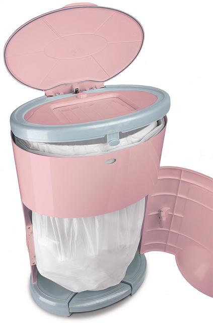 Dekor Diaper Pail Plus Pink