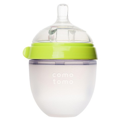 Comotomo 5oz Baby Bottle - Green