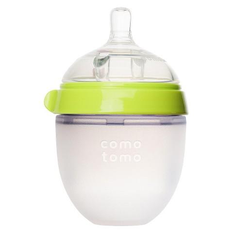 Comotomo 5oz Baby Bottle - Green