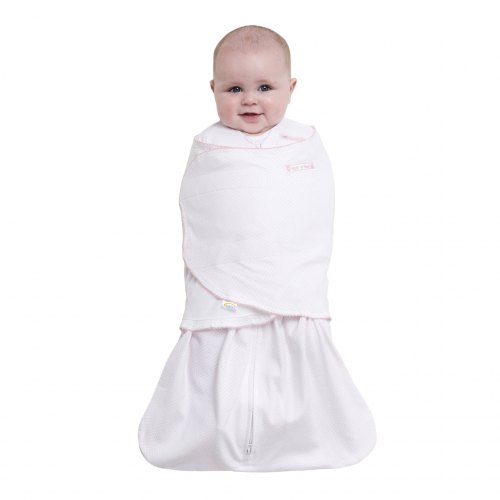 HALO SleepSack Swaddle - Pink Pin Dot