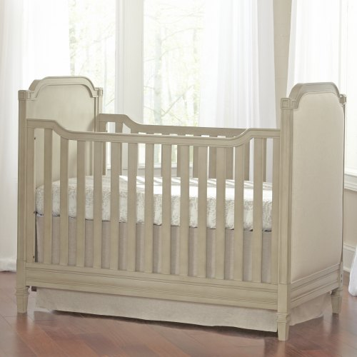Brixy Haven Upholstered Cottage Crib