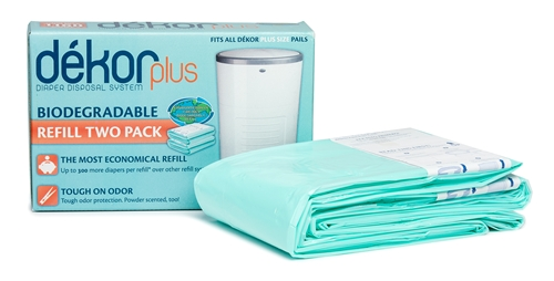Dekor Plus Biodegradeable Refill - 2 Pack