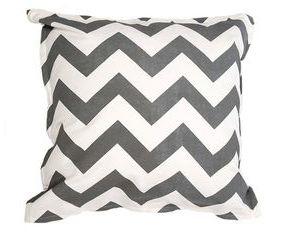 Twelve Timbers Coral Chevron Pillow