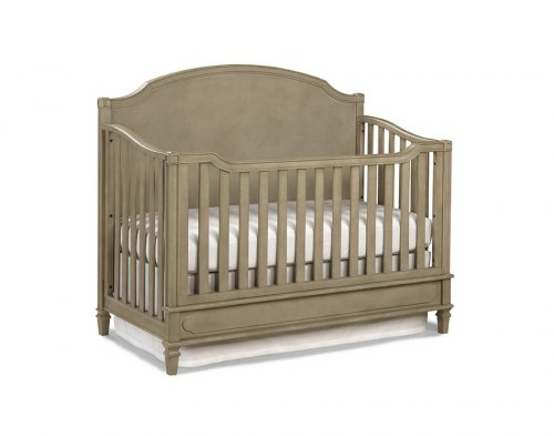 Brixy Haven Lifestyle Convertible Crib - Heather Grey