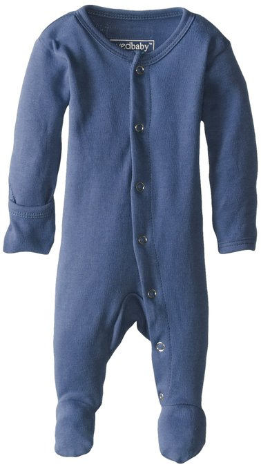 Organic Gloved Sleeve Coverall - Slate