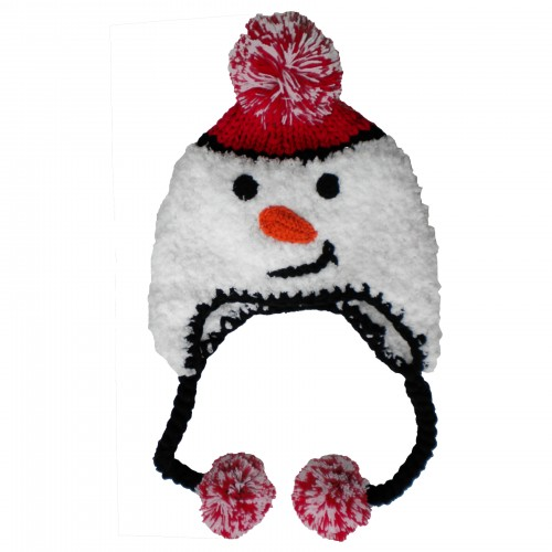 Huggalugs Snowman Beanie