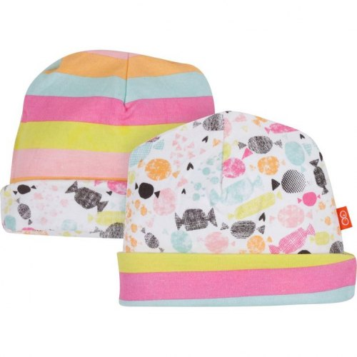 Magnificent Baby Reversible Hat - Sweet Treats