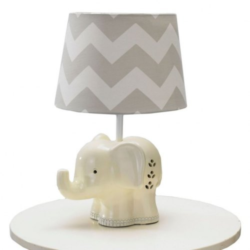 Living Textiles Elephant Lamp Base