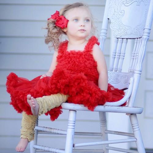 Huggalugs Scarlett Red Pettiskirt
