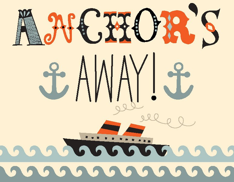Anchors Away Canvas