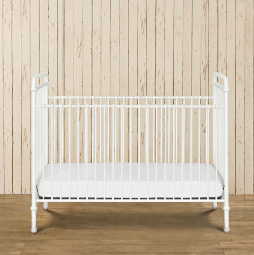 Franklin & Ben Abigail 3-in-1 Iron Crib - Washed White