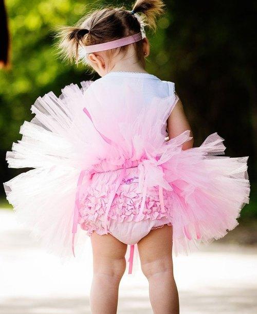 RuffleButts Pink Tutu