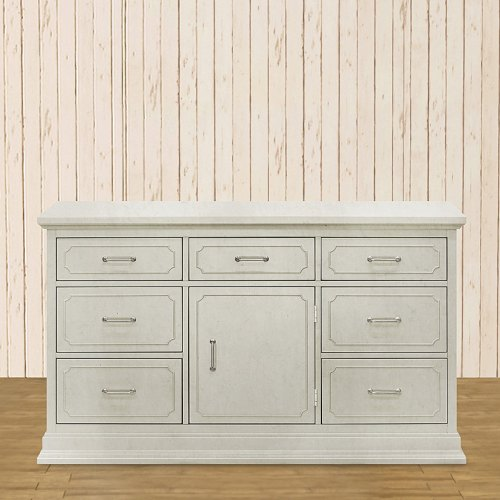 Franklin & Ben Oliver Double Wide Dresser - Grey Mist