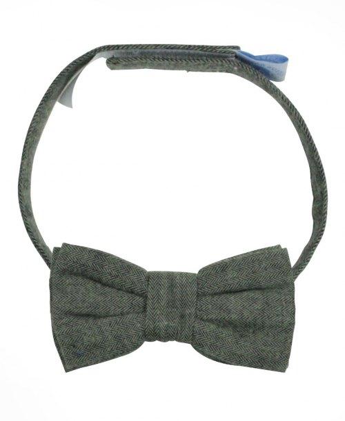 RuggedButts Herringbone Bow Tie