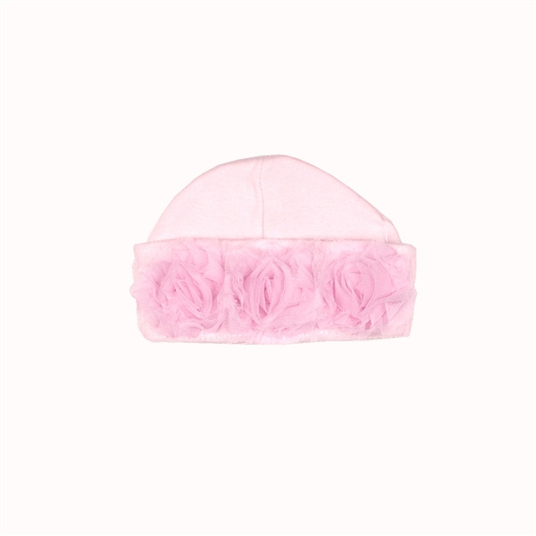 Haute Baby Emma Rose Flap Cap