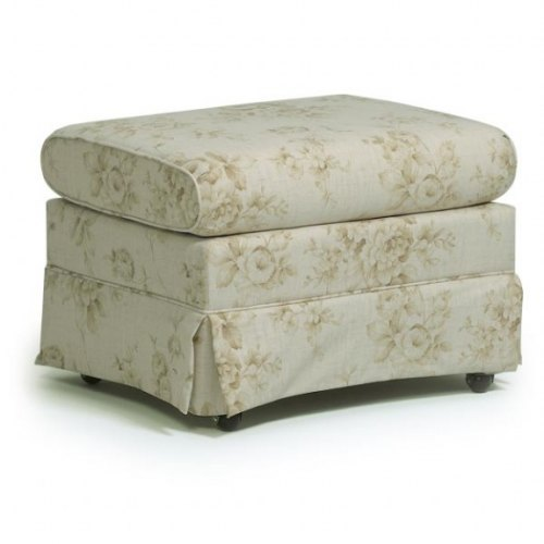 Upholstered Glide Ottoman - 0046