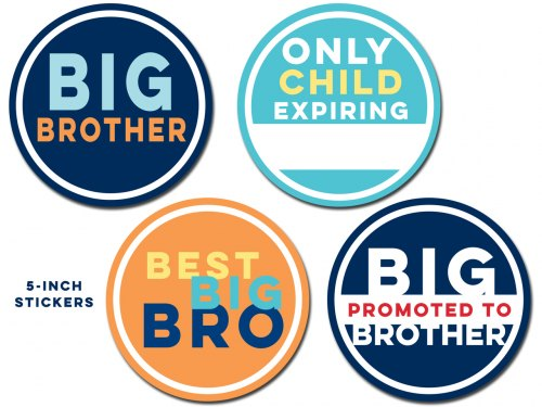 Sticky Bellies - Big Brother Stickers