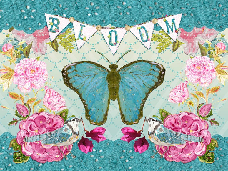 Bloom Butterfly Canvas