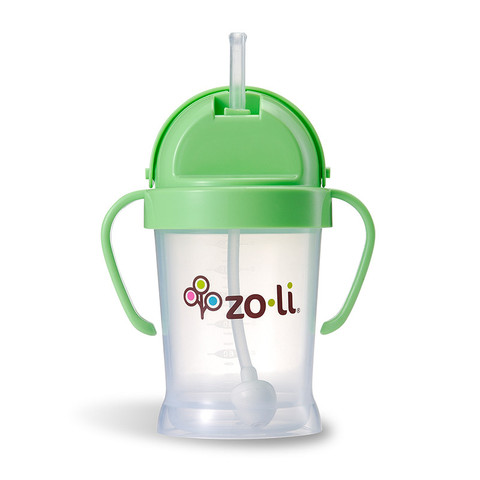 Zoli Bot Sippy Cup - Green