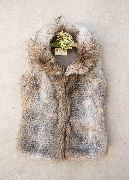 Joyfolie Belinda Fur Vest