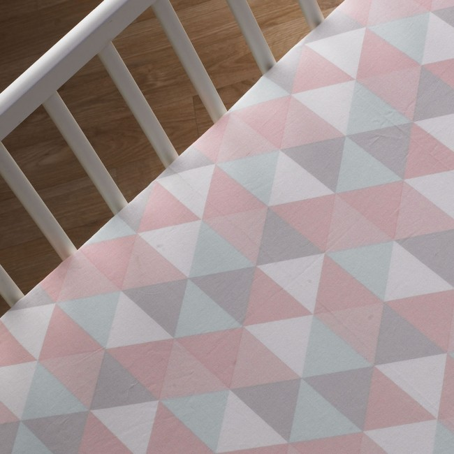 Lolli Living Fitted Crib Sheet - Tripod