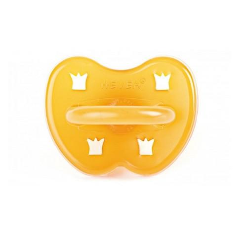 Hevea Round Pacifier - Crown