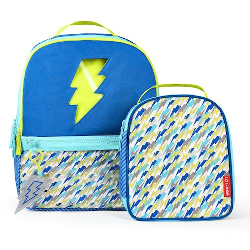 Kindergarten Backpack & Lunchie - Lightning