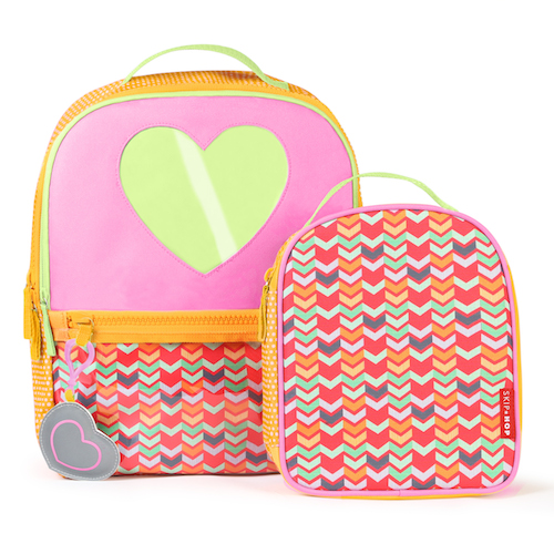 Kindergarten Backpack & Lunchie - Heart