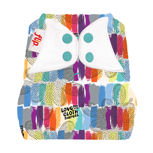 Flip One Size Diaper Cover - Love