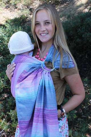 Tula Aurora Wrap Conversion Ring Sling - Galileo