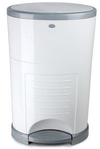 Dekor Diaper Pail Plus - White