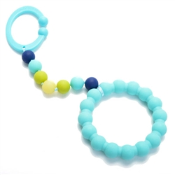 Chewbeads Gramercy Stroller Toy - Turquoise
