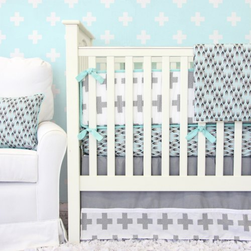 Caden Lane Grayson Gray Arrow Bedding