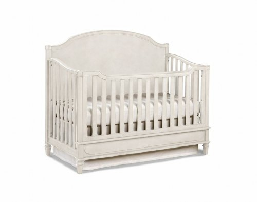 Brixy Haven Lifestyle Convertible Crib - Linen White